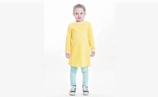 pallero legginssit ja keltainen raita mekko